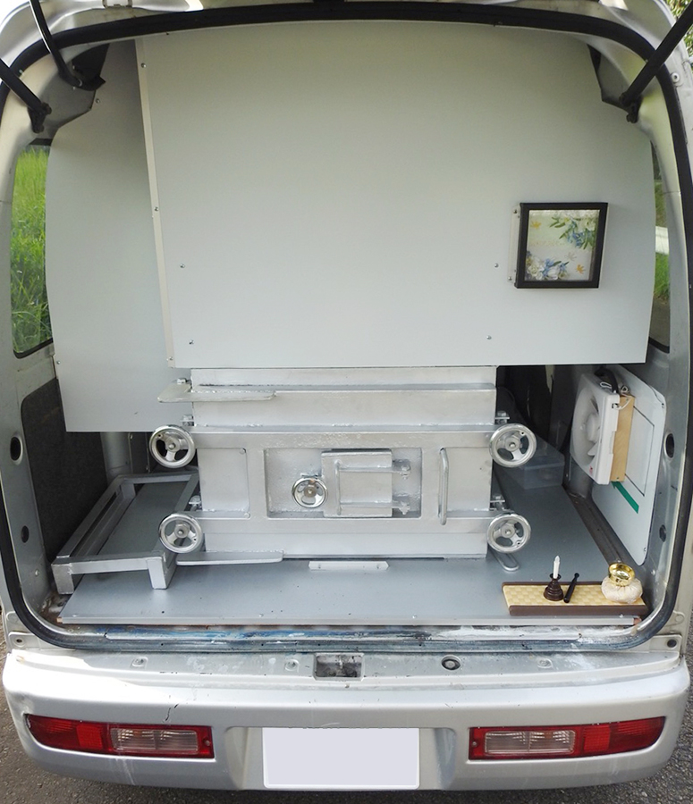 ペット火葬車